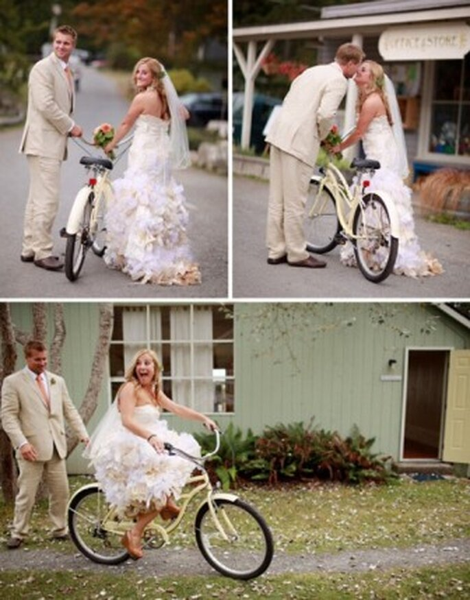 Un mezzo di trasporto alternativo - Foto: www.greenweddingshoes.com