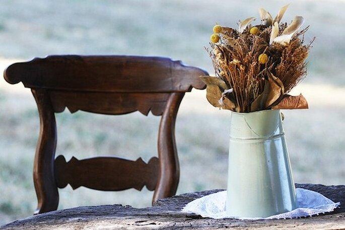 Lindas ideas para decorar toda tu boda con jarrones - Foto Instantánea y Tomaprimera