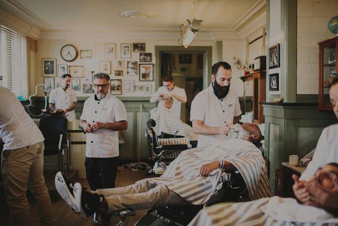 Foto: Robert J Hill - New York Barbershop