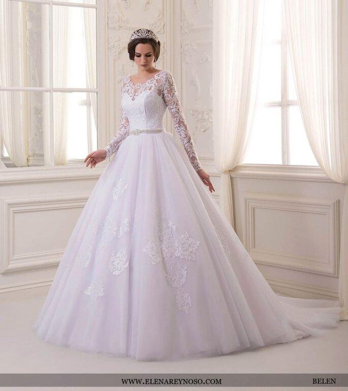 08be1d9f8 Vestidos de novia para brazos gruesos  Conoce las mejores opciones
