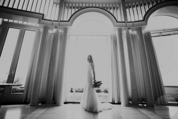 Luce perfecta en tu vestido de novia con ayuda del té de jengibre - Foto Nadia Meli