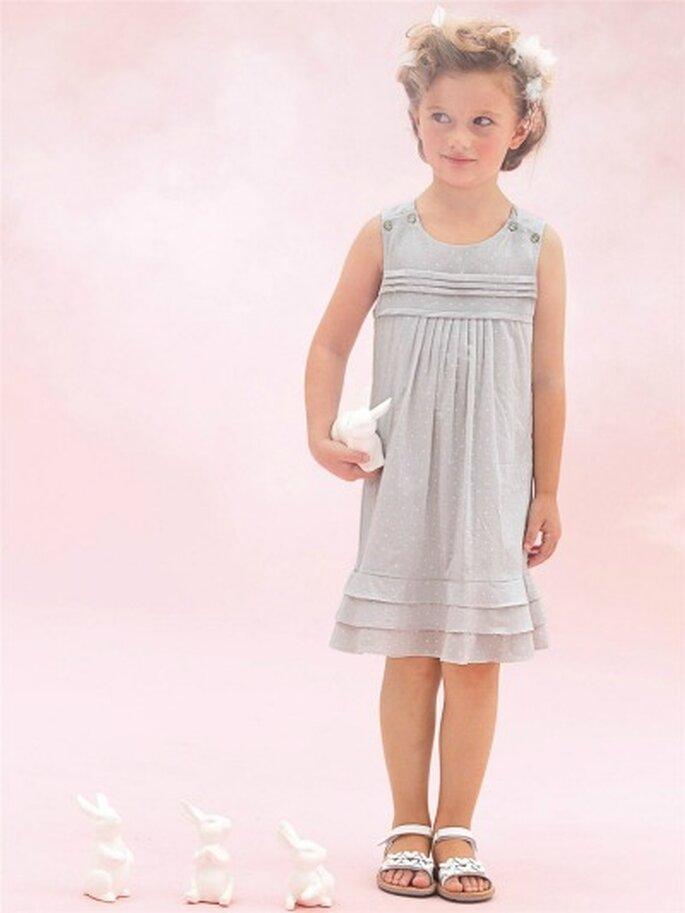 Mignonne comme tout cette robe ! source : Cyrillus cortège 2012