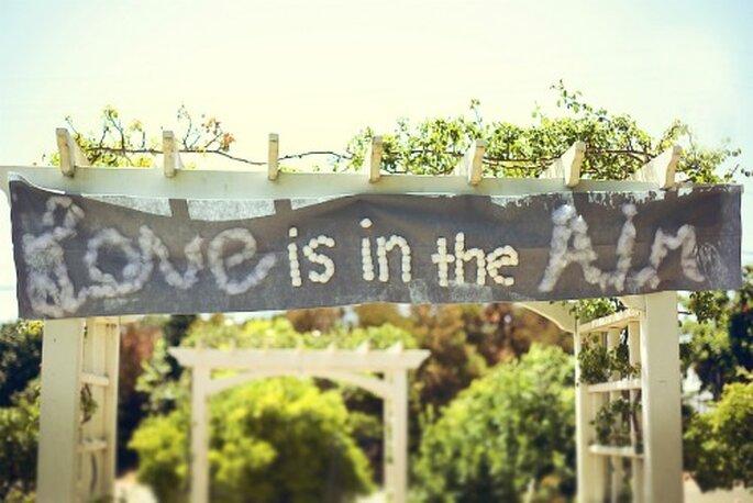 Un message tout en coton ! Source photo : http://www.closertolovephotography.com/