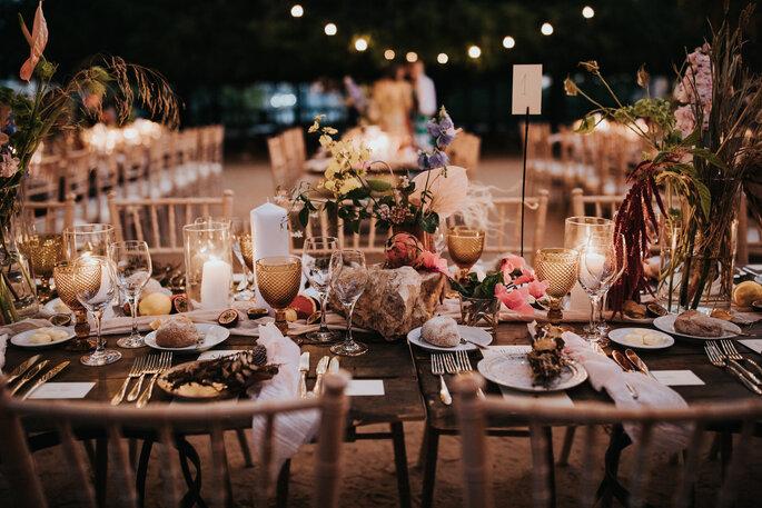 Mesa do banquete