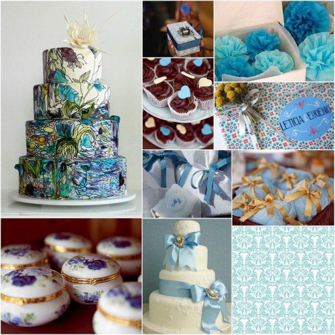Bodas Decoracion Azul ~ Detalles en azul para tu boda Jabones personalizados de Olivia