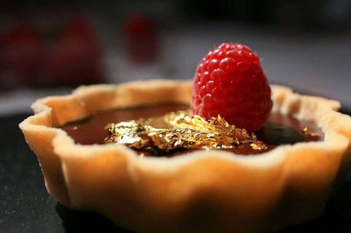 Tortinha de sobremesa para casamento