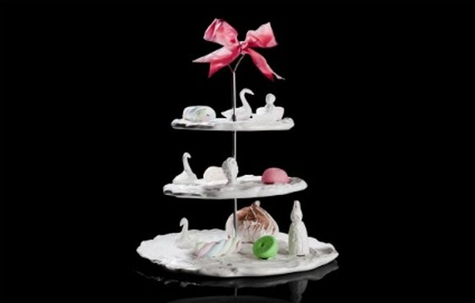 A sweet paradise 3 tier cake stand - Undergrowthdesign.com