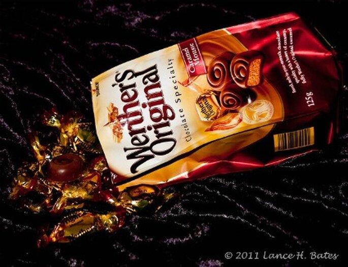 Los chocolates resultan ser un buen detalle de bodas para hombres. Foto: Degilbo on Flickr