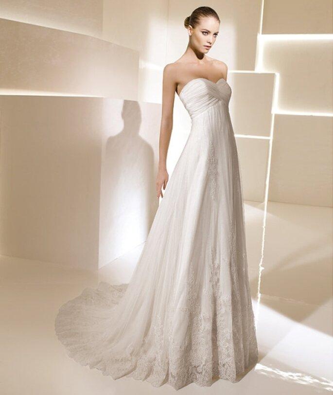 Vestido de novia estilo Imperio. Foto: La Sposa 2012