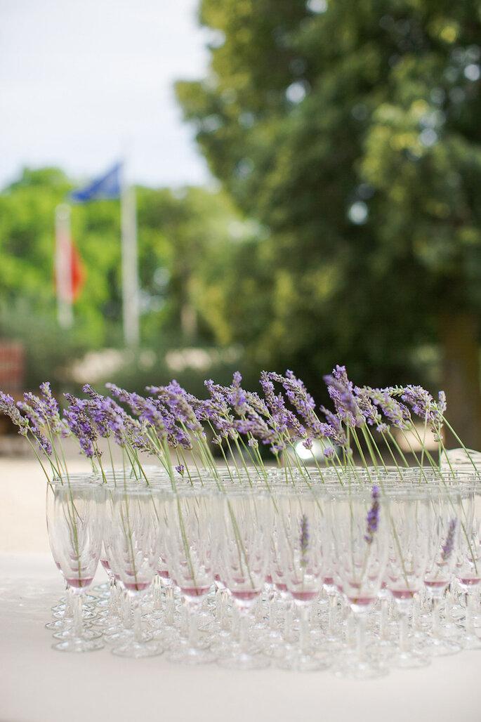 Lavanda, el color perfecto para la decoración de boda - Marianne Taylor Photography
