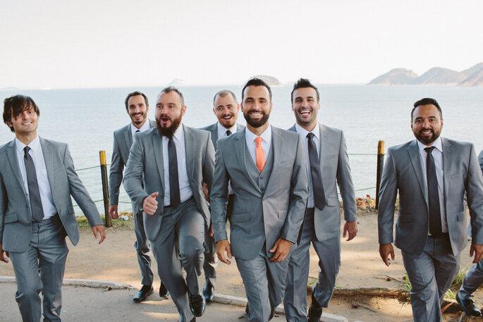 traje do noivo casamento na praia