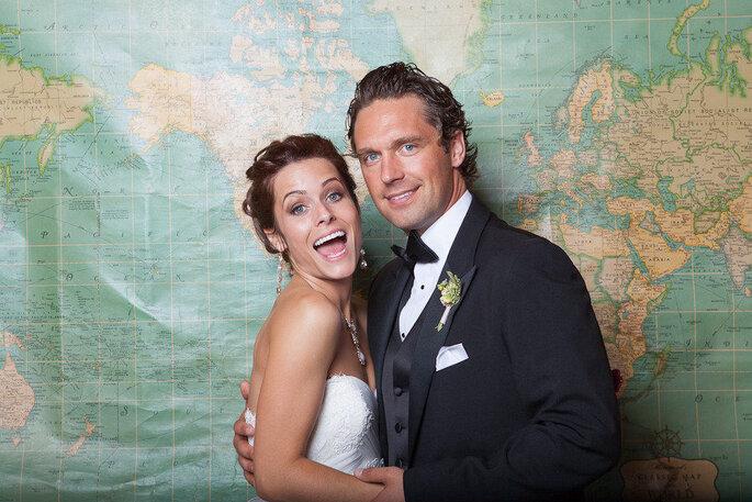 5 ideas divertidas para hacer el photocall de tu boda. Foto-Andrew Mark Photography