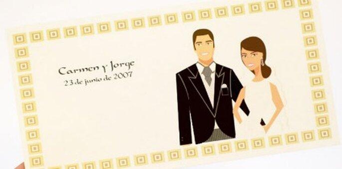 Invitaciones de boda personalizadas, Sya-Sya