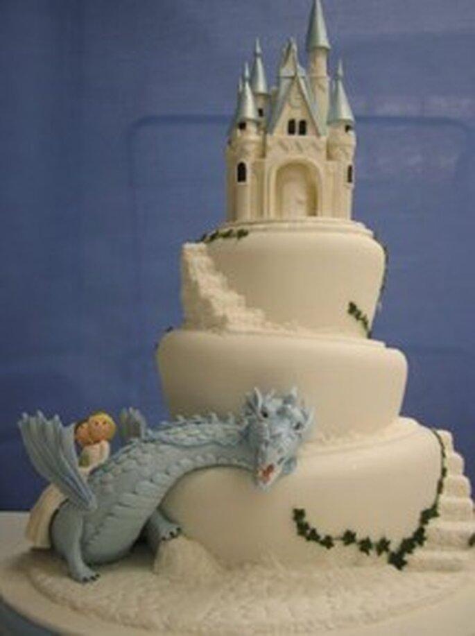 Una torta dall'atmosfera fiabesca ...