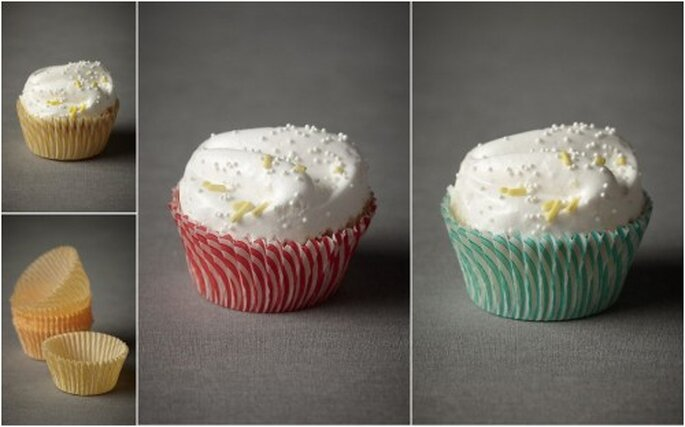 Receta para los originales cupcake de vainilla. Imagen BHNL
