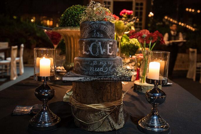 bolo casamento criativo e ousado