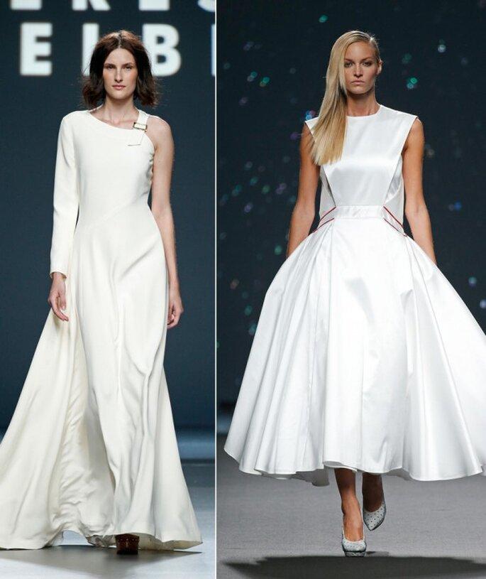Vestidos de novia 2015 desde la semana de la moda de Madrid - Foto Teresa Helbig y Amaya Arzuaga