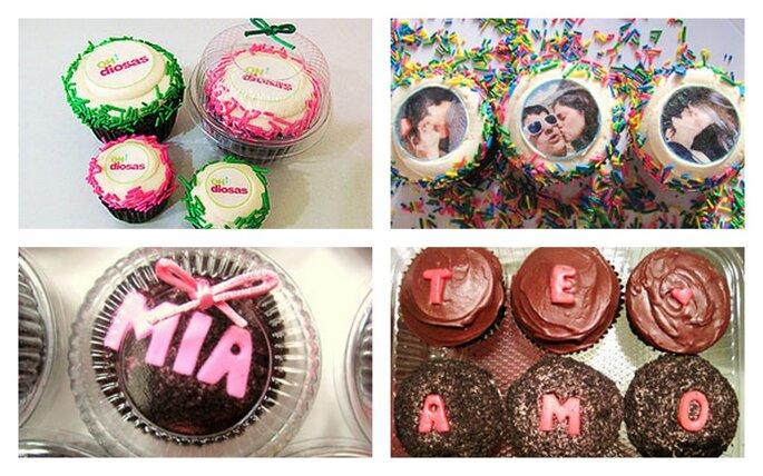 Cupcakes gourmet. Fotos del sitio de Miss Cupcakes.