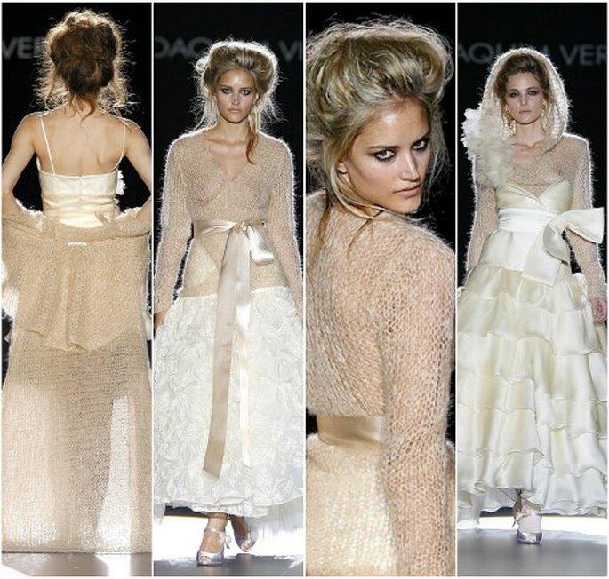 Vestidos de novia de Joaquín Verdú, colección 2011