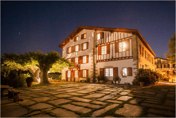 lieux de réception dans le Pays Basque