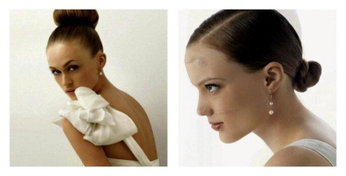 Recogido clásico y maquillaje natural - Fuente: Nosotras.com