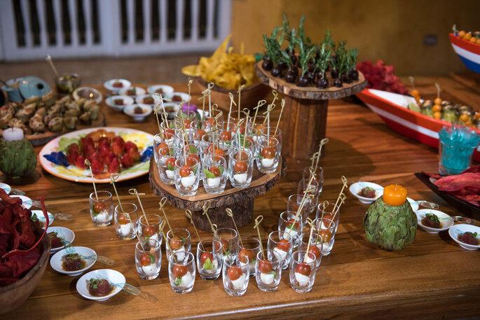 Hotel InterContinental Cartagena de Indias catering menú para bodas