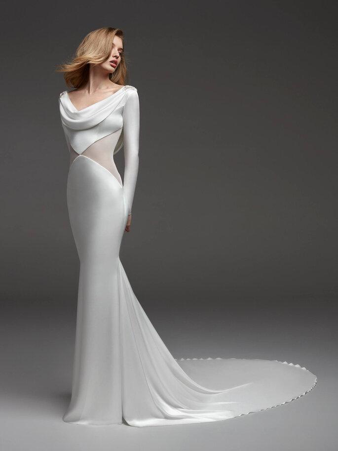 Robe de mariée sirène près du corps