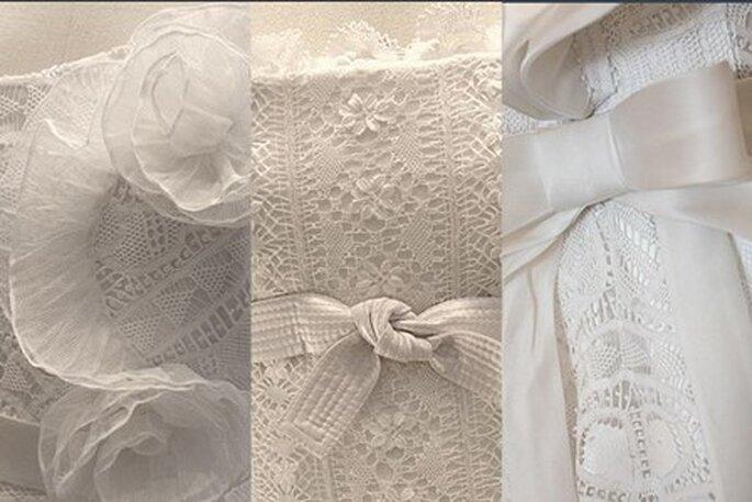 Vestidos de Noiva Martha Medeiros 2011 - detalhes de renda