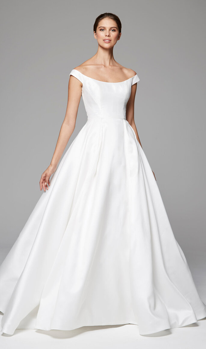 Vestidos de novia mujeres delgadas