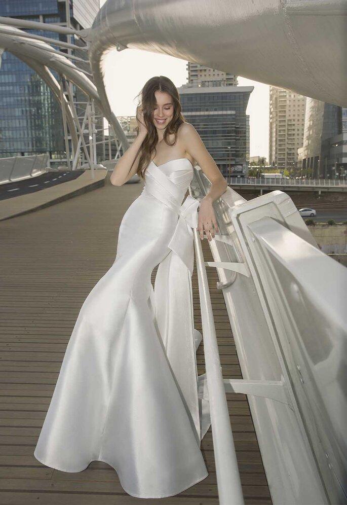 Abiti da sposa senza spalline