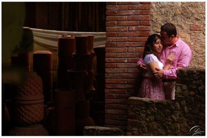 Escenario rustico para una foto de pareja - Foto Emmanuel Aquino