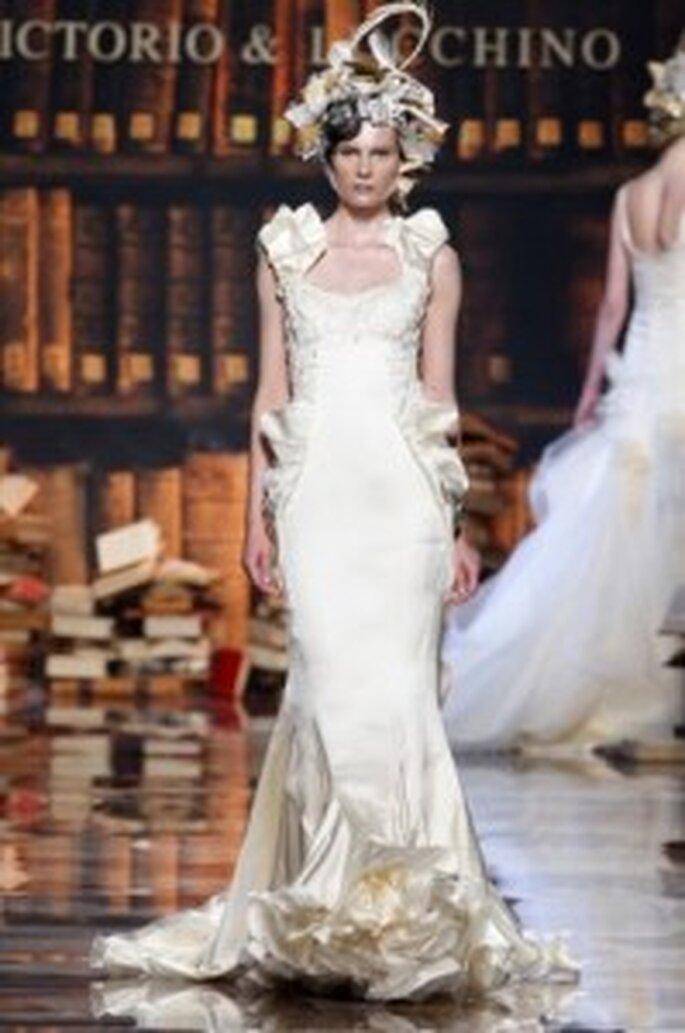Vestidos de boda victorio y lucchino