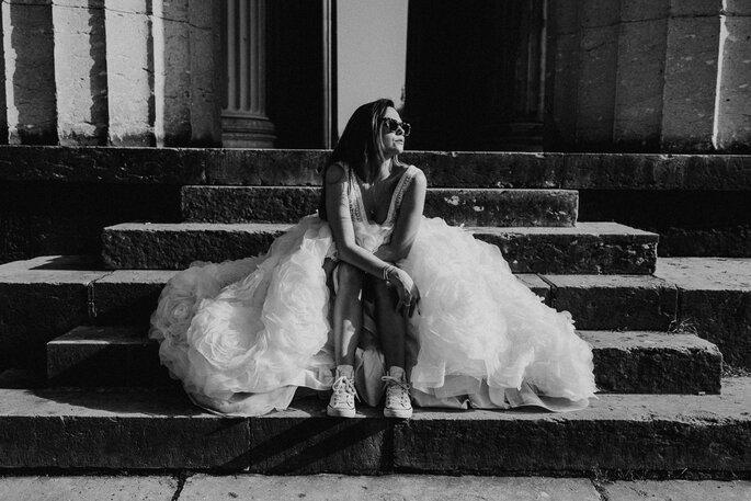 Bridal Shooting in den Straßen von München
