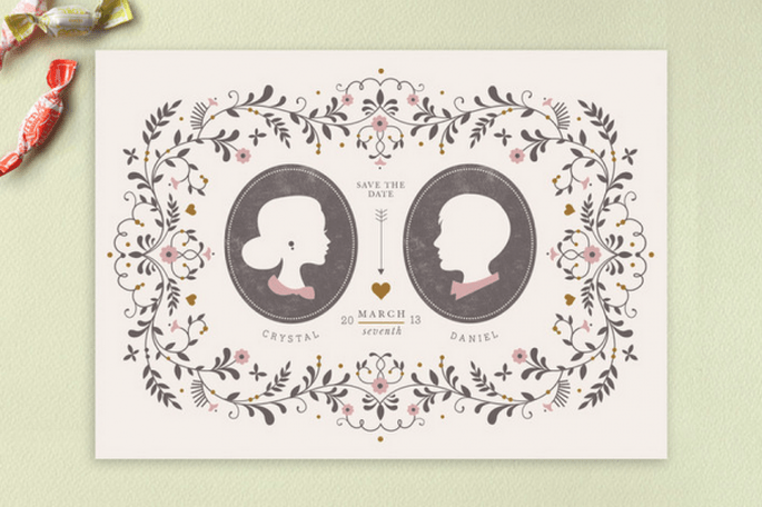 Los Save the Dates más originales - Foto Minted