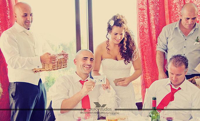Familles et proches seront ravis d'être impliqués dans votre mariage. Photo: Juan A. Olmos