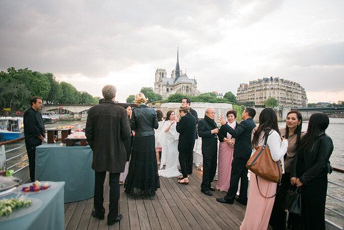 A perfect wedding in Paris. © Trentième Etage