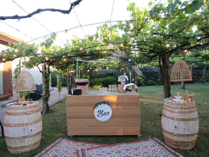 Bar aberto na Quinta do Amorinho