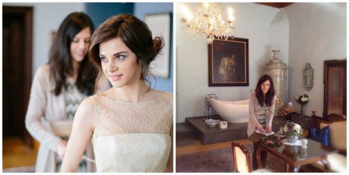 Verena Kindermann übernimmt die Planung, damit Sie eine traumhafte Hochzeit feiern können! Foto: Tony Gigov