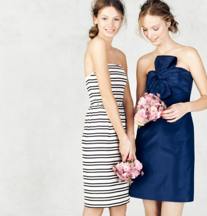 Vestidos chic para damas de honor - Foto: J.Crew Bridesmaid Collection