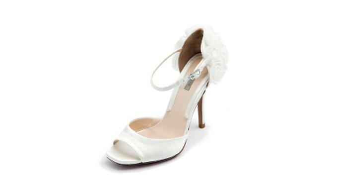 Zapatos abierto para novia de Uterque