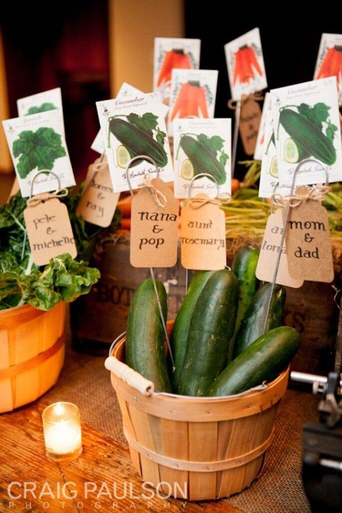 Elige frutas y verduras para tu dieta pre boda - Foto Craig Paulson Photography