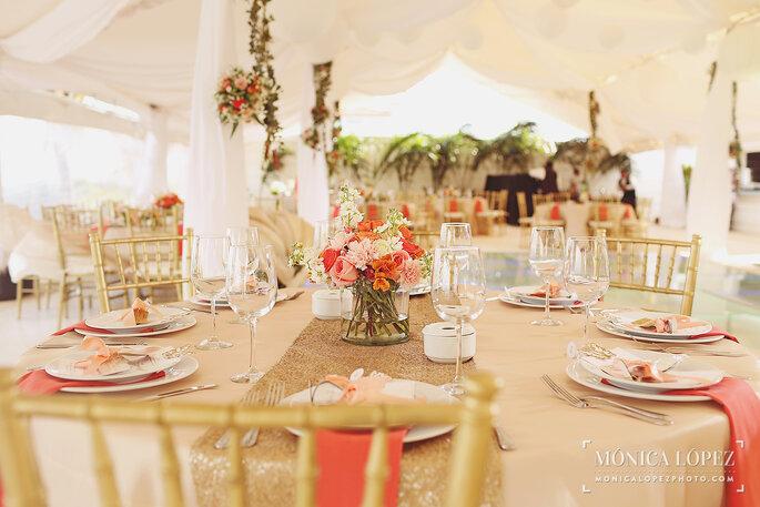 Foto por Mónica López Photography para Ocean Weddings
