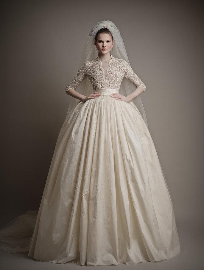 Las tendencias más grandiosas en vestidos de novia 2015 - Ersa Atelier