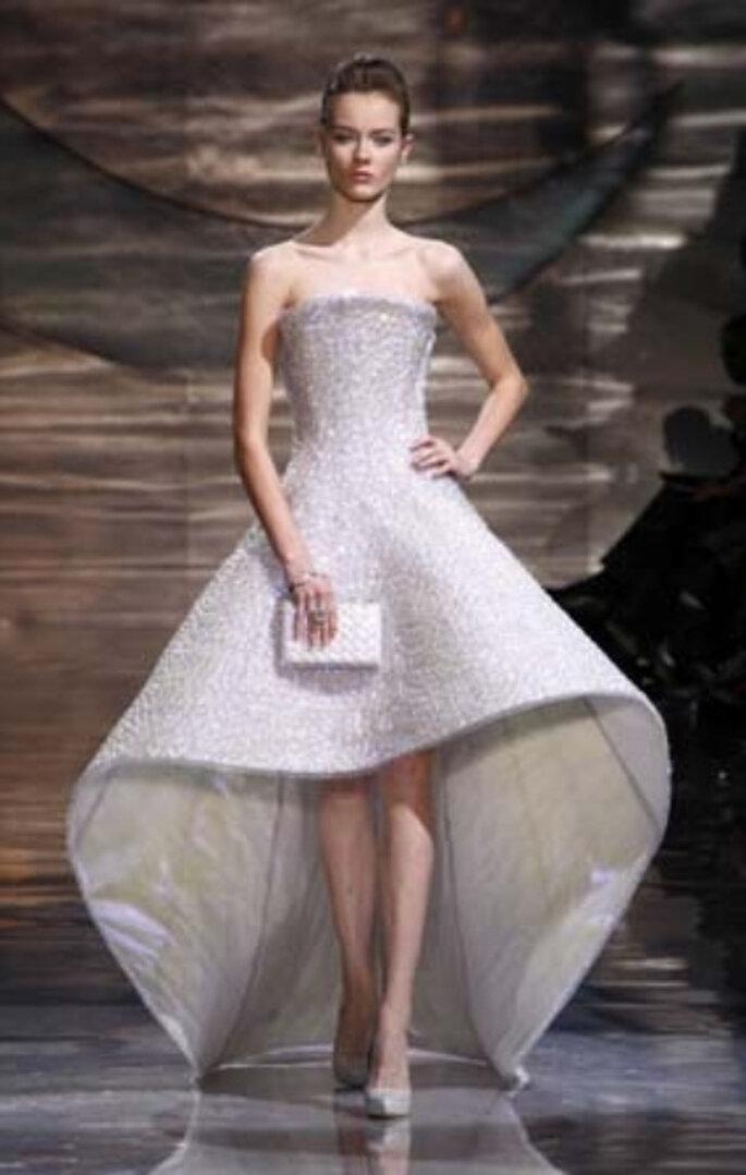 Armani novias 2011, el diseñador de Charlene Wittstock