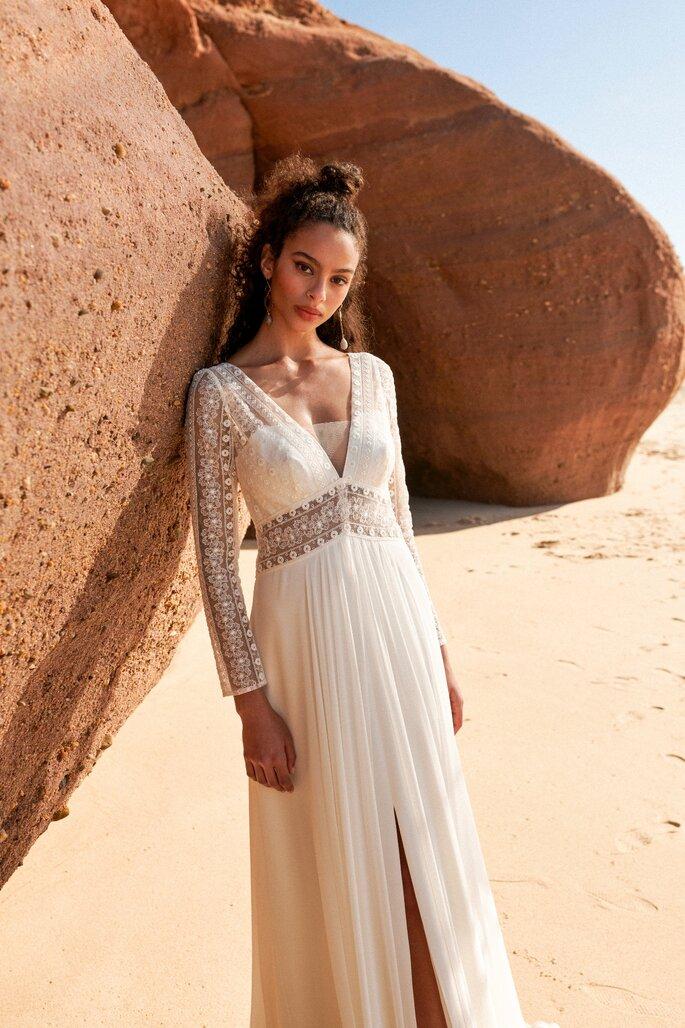 Printemps Mariage, boutique de robe de mariée de créateurs à Paris Haussmann