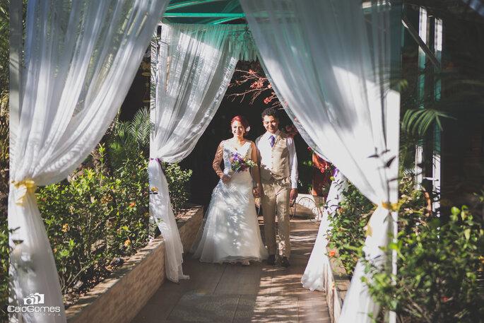 Entrada primeira noiva