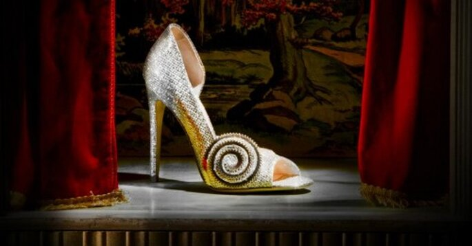 "Zapatillas de novia inspiradas en la película de Disney ""Oz"" - Foto Jerome C. Rousseau"