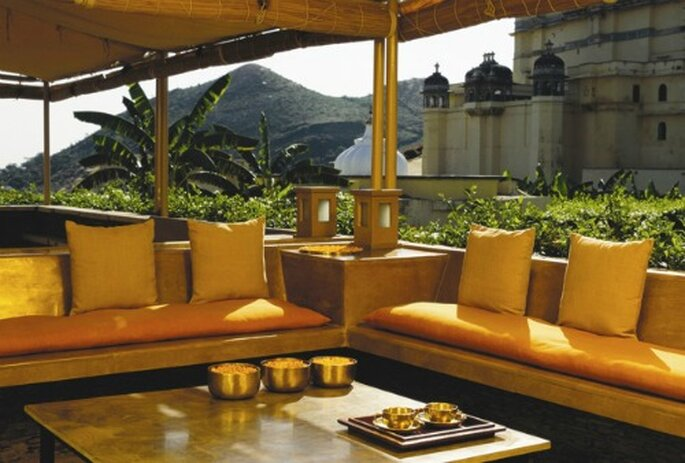 Somptueux hôtel en Inde, le Devi Garh