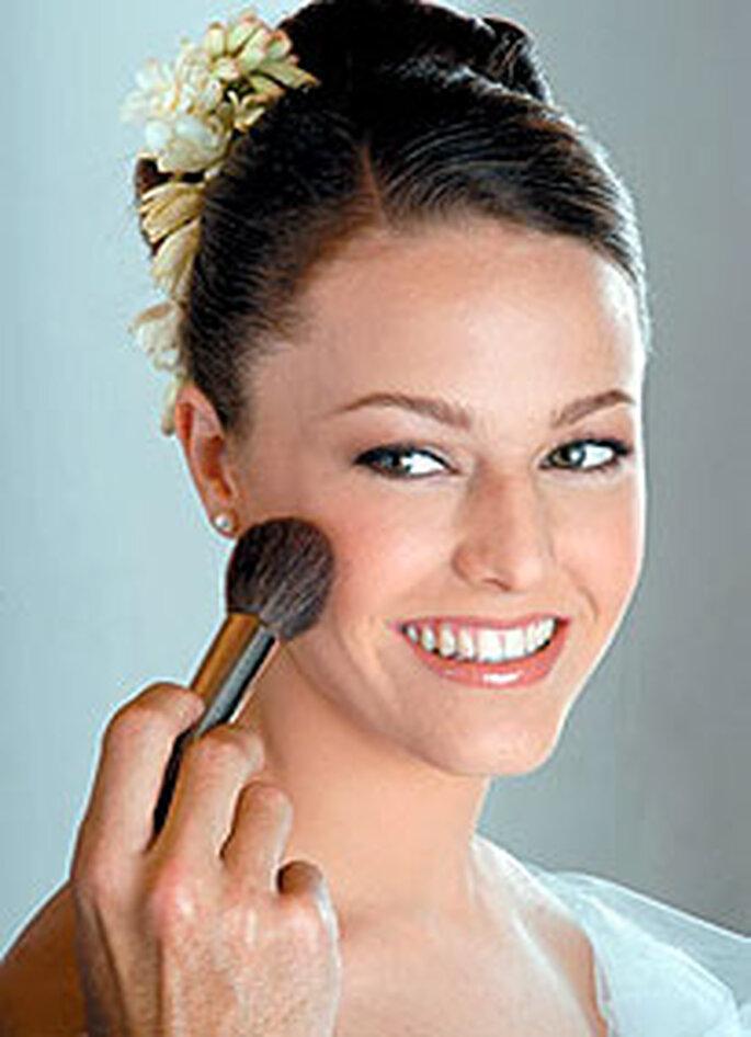 Maquillaje suave para novias