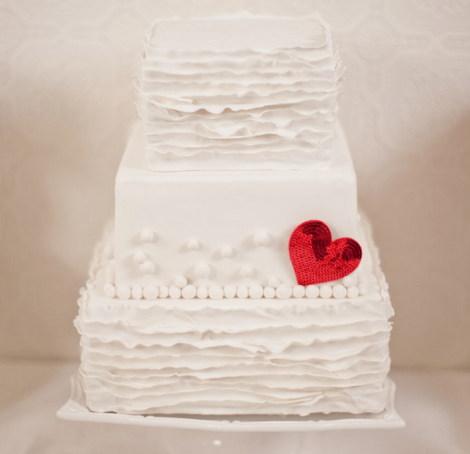 Una boda inspirada en San Valentín con muchos corazones - Foto Gabriel Ryan Photographers